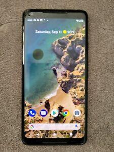 Google Pixel 2 XL - 64GB - Just Black (Unlocked) - read description!
