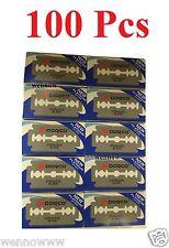 (100pcs)  Dorco Stainless Double Edge Razor Blade Platinum ST300