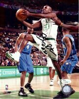 Gary Payton Signed Autographed 8X10 Photo Celtics Driving the Basket JSA