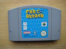 Nintendo  64 CARTRIGE  RAT ATTACK N64