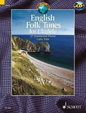 ENGLISH FOLK TUNES FOR UKULELE Tribe Book & CD