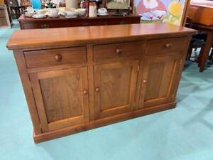 H41046 Pine Timber Sideboard Cabinet Cupboard