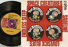THE SPOTNICKS SPACE CREATURES +3 EP SWEDISH 45+PS 1964 GARAGE FREAKBEAT BEAT