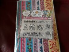 Washi Library & Stamp Set Card Toppers, Birthday Ect.