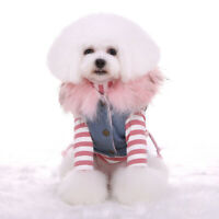 Fox Fur Coat Dog Cat Coat Jacket Pet Supplies Clothes Winter Clothing Puppy