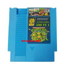 500 in 1 NES Classic Nintendo Super Game Cartridge Contra TMNT Bubble Bobble 2