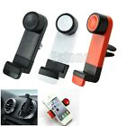 360° Rotating In Car Air Vent Mount Holder Cradle Stand For Mobile Phone iPhone