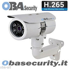 Oba Lite 100P ip camera H265,usb,4 Megapixel,PoE, Wireless,Ir Notturni 100m