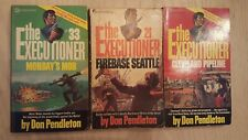 3- The Executioner Paperback Books By Don Pendleton