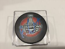 Evgeny Kuznetsov Signed 2018 Stanley Cup Caps Capitals Hockey Puck Autographed a