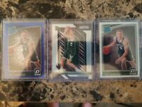 Donte DiVincenzo Lot. Silver RC, Blue Velocity RR and Optic RR Base! INVESTMENT
