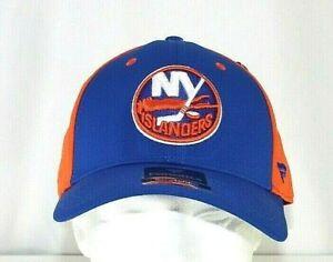 New York Islanders NHL Blue/Orange Baseball Cap Stretch Fit L/XL