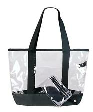 CLEAR TOTE BAGS WHOLESALE LOT OF 12 HANDBAGS NEW CLEAR
