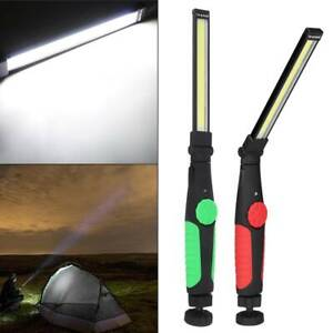 LED Work Light COB Hand Torch Inspection Lamp Work Light Up  Rechargeable