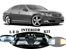 LED for Lexus LS 460 White Interior + License Plate + Reverse + Vanity (20 pcs)