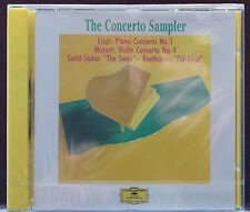 Rare Deutsche Grammaphone Concerto Highlights CD Sealed Liszt Mozart Sains Saens