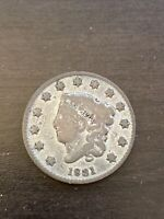 1831 Matron Head Large Cent
