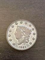 1831 Matron Head Large Cent
