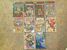 Lot of 10 Assorted Comics: Marvel,Dc, Epic & Renegade Press