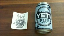 Yeti Empty Fake/stash Can Limited Edition Collectible W/ Sticker Free Shipping