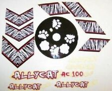 SET OF ALLYCAT BICYCLE TRAILER DECALS BIKE PARTS 105