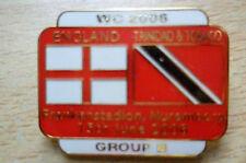 Badge- WC 2006- England v Trinidad & Tobago, Group B Badge (Genuine*)