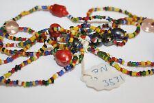 Seed Bead Necklace / Summer Vintage / Retro / Boho / Hippy / Beach / NEW /Unisex