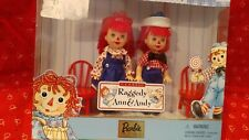 Barbie Kelly & Tommy as  Raggedy Ann & Andy The Barbie Collector Edition  NIB
