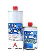 Prochima Resina epossidica E-30 effetto acqua trasparente 1,6 kg diorami