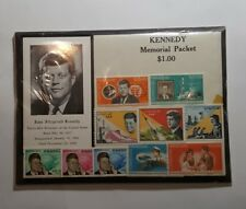 Kennedy Memorial Packet stamp collection (sealed, never opened)