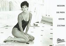 PUBLICITE ADVERTISING  046  1985  Etam  sous vetements lingerie (2p) body
