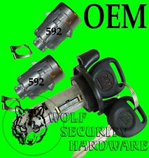 Envoy Trailblazer 03-09 OEM Ignition Switch Cylinder & Two Door Lock Set 2 Keys