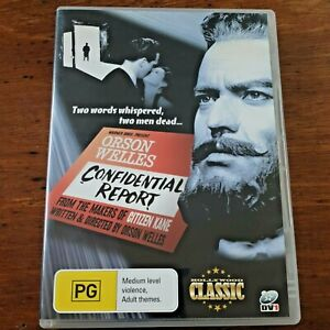Confidential Report DVD R4 VERY GOOD – FREE POST