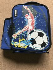 Smash Football Lunch Bag / Packed Lunch Blue