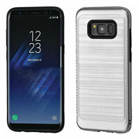 For Samsung Galaxy S8 Hybrid Protective Rubber Shockproof Hard Phone Case Cover