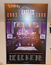 2003 Eagles Farewell 1 Concert Tour /Infinity Display Stand Posters