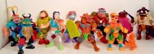 Vintage Playmates TMNT Figure Lot of 10 Teenage Mutant Ninja Turtles Accessories