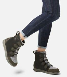 SOREL explorer Joan boots in coal /charbon, size 5.5 UK in box