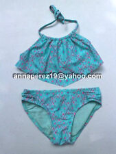 68% OFF! AUTH GEORGE 2-PC PRINTED HALTER BIKINI SWIMWEAR SMALL / US 6 US$11.96