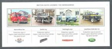 Great Britain British Auto Legends-Cars mnh min sheet-Landrover-Morris-Austin