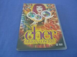 CHER Live in Concert DVD Region 0