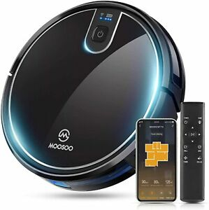 Moosoo MT-710 Automatic Smart Robot Vacuum Cleaner/Slim Support Alexa & Google
