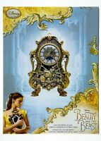 Disney Beauty and the Beast Live Action Movie Limited Edition Cogsworth Clock