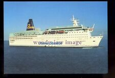 FE3504 - Stena Sealink Line Ferry - Stena Felicity , built 1980 - postcard