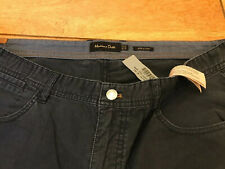 massimo dutti Mens Trousers Chino Type Navy Blue 36