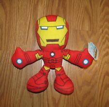 "NWT Marvel Super Hero Adventures Iron Man Plush Figure Approximately 8"" NEW"