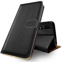 SDTEK Huawei P20 Pro (Black) Coque Housse Portefeuille Etui Cuir Flip