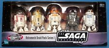 STAR Wars TERRA USA esclusiva ENTERTAINMENT raro droide astromeccanico DROID PACK SERIE 1.
