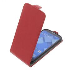 Tasche für Alcatel One Touch Pop C7 FlipStyle Schutz Hülle Flip Case Rot