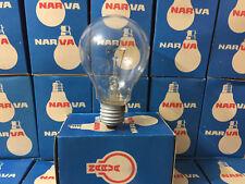 Glühbirne 150W 230V klar E27 NARVA DDR Vintage Leuchtmittel